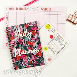 zestaw planerów, notes dzienny i tygodniowy, zestaw, notes, planer, lista, plan