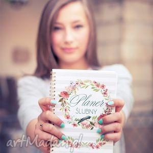 Planer ślubny, notes, kalendarz, ślub, planer, notes