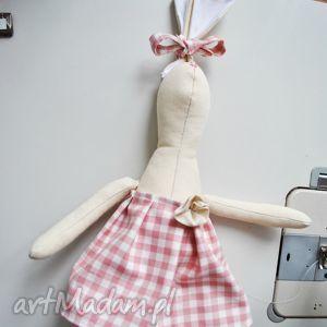 pani królik, przytulanka, dziewczynki, prezent, szmacianka, lalka