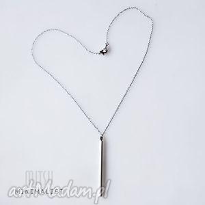 Srebrny Monolit 40 cm, geometryczne, minimalizm, prosty, elegancki, nowoczesny