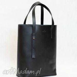 stylowy skórzany shopper bag , torebka, torebkaskórzana, skóranaturalna, do