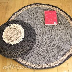 dywany dywan okrągły na zamówienie p magdaleny, dywan, okrągły, bawełniany, chodnik