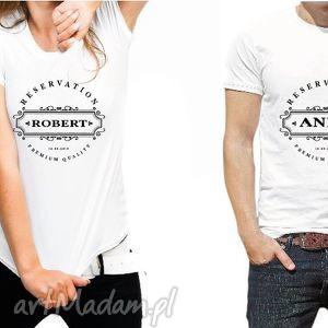 koszulki dla par reservation, love