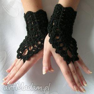 jedyne w swoim rodzaju ażurowe rękawiczki - ozdobne - ozdobne, gotyckie