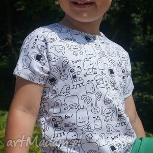 Bluzeczka na krótki rękaw cała duszki, baqwełna, handmade, bluzeczka, letnia