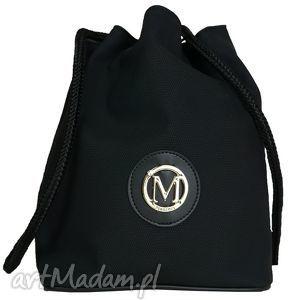 manzana plecak-worek luźny styl czarna matowa, manzana, plecak, worek, luźny