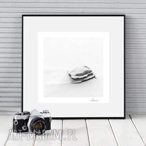 fotografie autorska fotografia, kamień, zima, zdjęcie, dekoracja, prezent