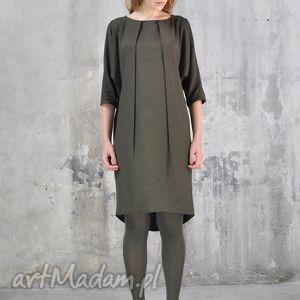 święta prezent, sukienki maili - sukienka, zielona, dzienna, wieczorowa