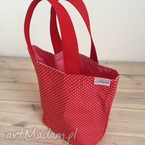do ręki lunchbag by wkml lady with red, śniadanie, śniadaniówka, lunch, ekotorba
