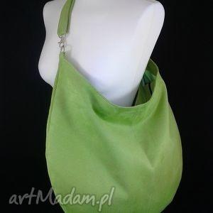 na ramię sack lime, torebka, worek, duża, hobo torebki, święta prezent