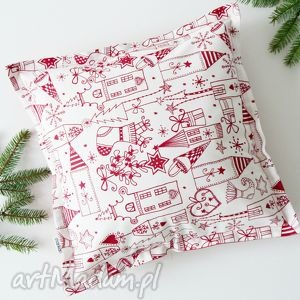 świąteczne malunki, święta, bożenarodzenie, choinka, poduszkaświąteczna, handmade