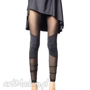 legginsy z nakolannikami, legginsy, czarne, wyszczuplające, święta prezent