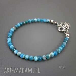 delikatna z apatytu iii, srebro, oksydowane, apatyt biżuteria, prezenty na święta