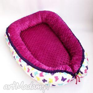 wyjątkowy prezent, kokon niemowlęcy, kokon, bawełna, dziecko, spanie, łóżeczko, minky