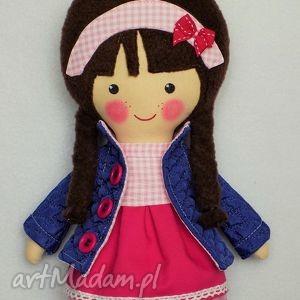 malowana lala rebeka, lalka, zabawka, przytulanka, prezent, niespodzianka, dziecko