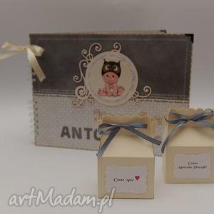zaproszenia pudełeczka podziękowania dla gości urodziny, podziękowania