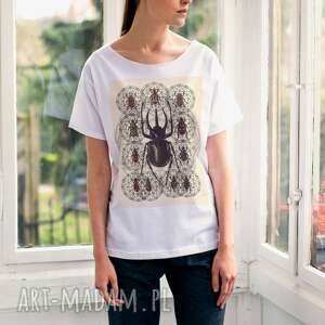 hexagon beetle oversize t-shirt , ubrania