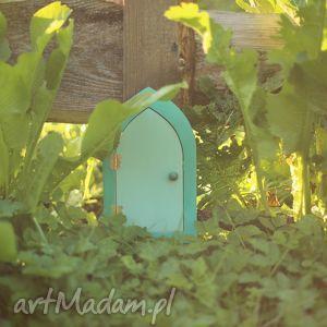 magiczna bajka - szmaragdowy elf i drzwi wróżek - lalka, wróżka, elf
