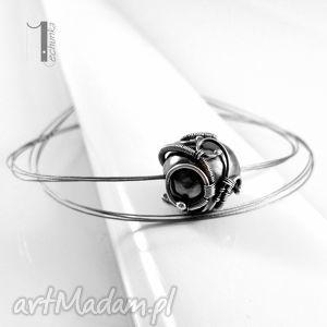 miechunka graphite srebrny naszyjnik z perłą majorka, srebro, 925, perła, majorka