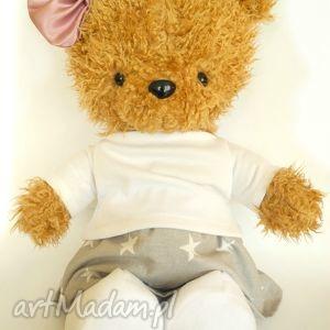 miś - dziewczynka z zestawem ubranek 4 szt , miś, maskotka, niedźwiadek, przytulanka