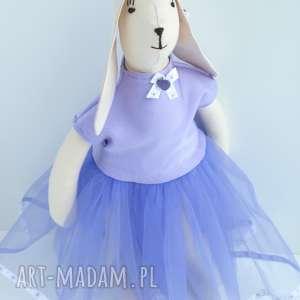 zajĄc w tiulowej sukience - zając, tilda, skandynawski, wielkanoc, dziecko, tiul