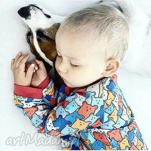 felicjagato dziecięca bluza dresowa - kolorowe misie, bluza, dziecięca, miś, misie