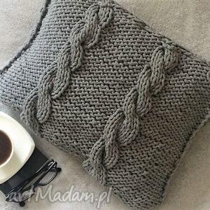 ręcznie wykonane poduszki poduszka ze sznurka bawełnianego