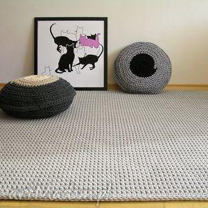 wyjątkowy prezent, dywan minimalizm, dywan, chodnik, bawełniany, skandynawski, salon