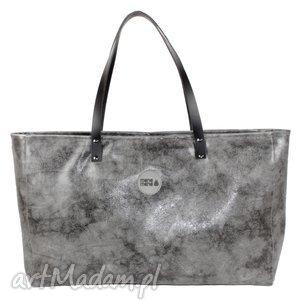 torba cuboid maxi iii, usztywniana, handmade, prezent, pandy, personalizacja