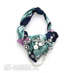 fairytale naszyjnik handmade - naszyjnik, handmade, kolorowy, wielobarwny, pastelowy