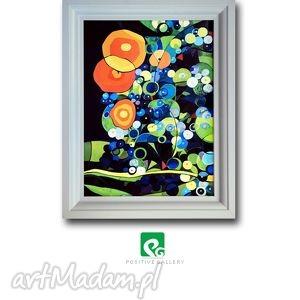 ogród charlotty grafika, plakat, kwiaty, ogród, prezent, wnętrze dom