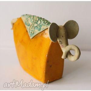 słoń ceramiczny 3, słoń, słonik, ceramiczny, ceramika