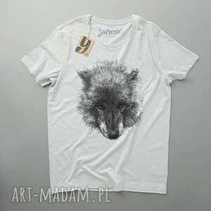 WILK koszulka z kieszonką, tshirt, meski, pocket, wolf
