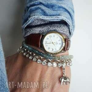 bransoletki akwamaryny ombre srebro 925, akwamaryny, ombre, srebro, 925 biżuteria