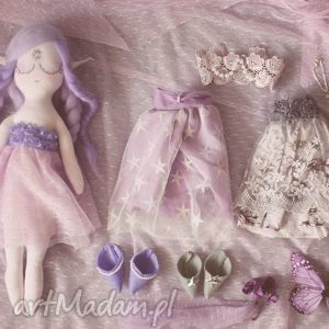 Bajka z Magiczną Szafą - elfia lalka Ametyst, lalka, ubranka, sukienki, wróżka, elf
