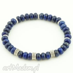 lapis lazuli, lapis, sakiewka, ozdobna, prezent