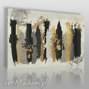 obraz na płótnie - miasto artystyczny 120x80 cm 50201 , miasto