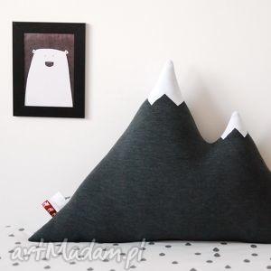poduszki poduszka góra grafitowa, poduszka, skandynawska dom