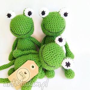 Żabka Mała - ,żabka,żabki,żaba,maskotka,zabawka,