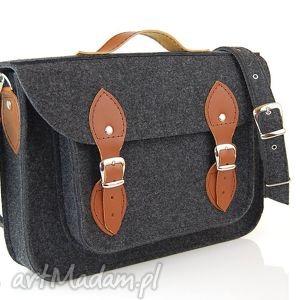 hand made na laptopa filcowa torba - personalizowana - z grawerowaną dedykacją logo lub grafiką