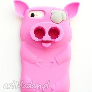 js jewelery etui świnka iphone 4 4s, etui, iphone, swinka, różowa