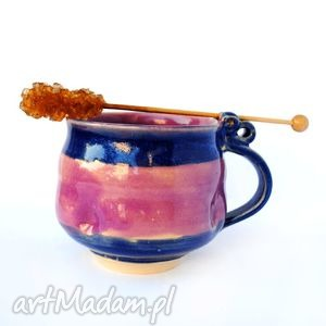 ceramiczy kubek jt93, ceramika, kubek, naczynie, użytkowe, unikat, kuchnia dom