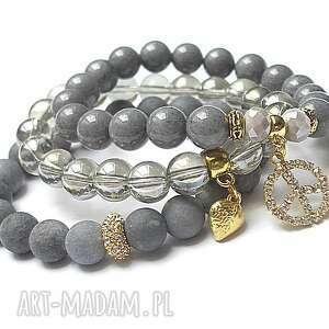 grey trio vol 7 11 08 16 set, jadeity, marmur, szkło, kamienie, minerały, kika