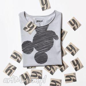 unikalny prezent, shadow koszulka z nadrukiem, tshirt, mysz, myszka