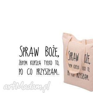 na zakupy torba eko bawełniana boże spraw , eko, bawełna, sprawboże torebki
