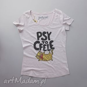 handmade koszulki psy to cfele bluzka z kotem
