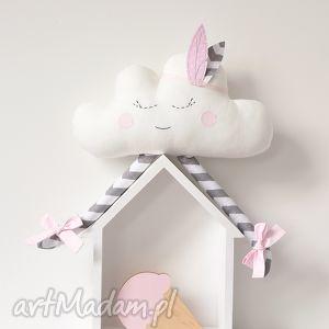 chmurka - chmurka, chmura, pióropusz, piórko, zabawka, prezent