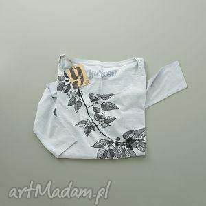 bluzki leaves bluzka z nadrukiem, kieszonka, ovesize, bluza, unikalny prezent