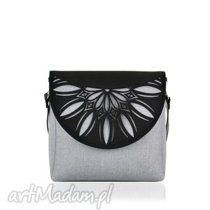 ręcznie robione na ramię torebka puro 820 light grey cutout