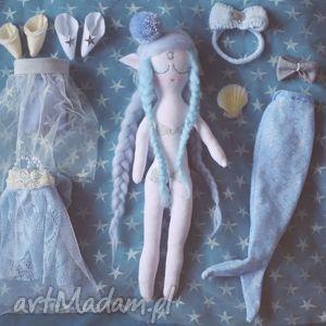 lalki bajka z magiczną szafą - elfia lalka szafir, lalka, elf, wróżka, komplet